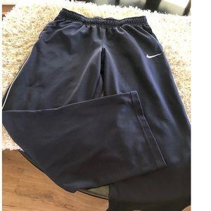 Nike Navy Blue Athletic Jogger Pants Size Large